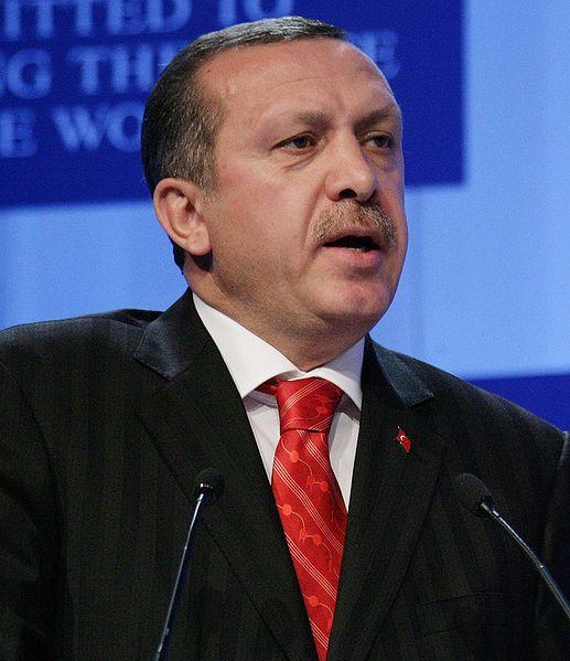 Turkeys PM, Recep Tayyip Erdogan. Foto: Wikimedia Commons.