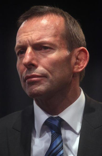 Tony Abbott. Foto: Wikipedia Commons.