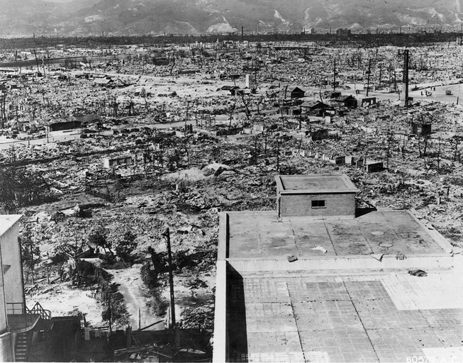 Hiroshima etter atombombingen 1945